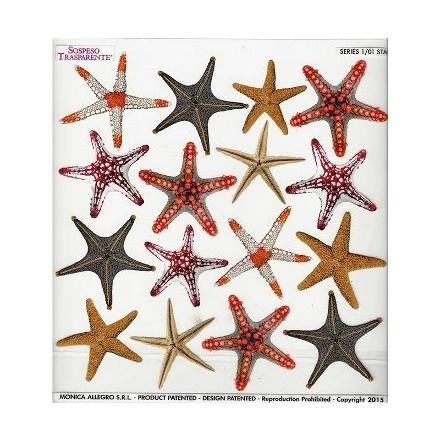 Τυπωμένo φύλλο / Ζελατίνη για Sospeso Trasparente - Star