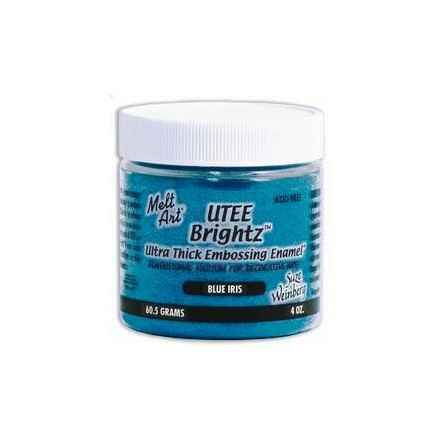 UTEE Brightz Embossing Powder 4 oz. (Blue Iris)