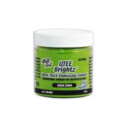 UTEE Brightz Embossing Powder 4 oz. (Green Zinnia)