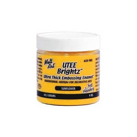 UTEE Brightz Embossing Powder 4 oz. (Sunflower)