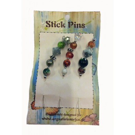 Set Stick Pin Jewelry (3τεμ)