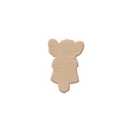 Ξύλινο Διακοσμητικό (3mm πάχος - H:12cm) - Angel Umabel