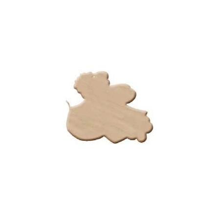 Ξύλινο Διακοσμητικό (3mm πάχος - H:9cm) - Mikael Angelo