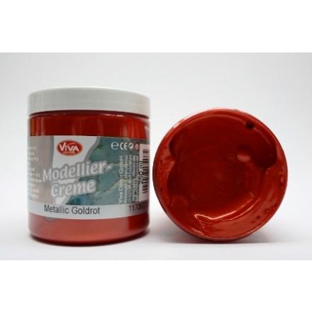 Modellier-Creme (Πάστα για ανάγλυφα) 90ml - Gold Red