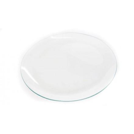 Γυάλινο στρογγυλό πιάτο 30cm