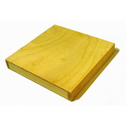 3D Ξύλινο Τελάρο 20x20cm, Ελληνικό προϊόν