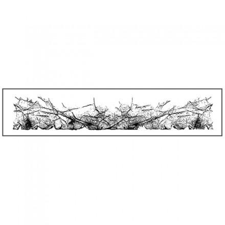 Σφραγίδα Stamperia HD 4x18cm, Vellum paper effect