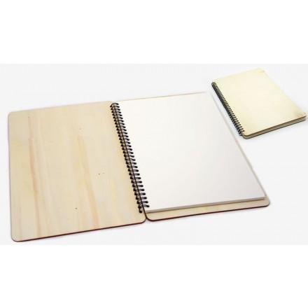 Ξύλινο Σημειωματάριο μεγάλο 29.3x19.6cm / 0621257