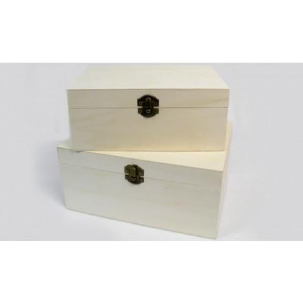 Ξύλινο Κουτί 23.5x17.5x11cm