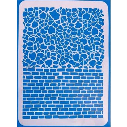 Στένσιλ (Stencil) Ζωγραφικής 30x21CM / 05150704