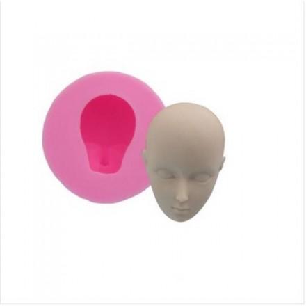 Καλούπι Σιλικόνης 5.6x5.4x2.4cm, Κεφάλι