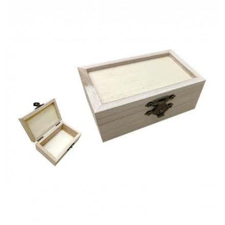 Ξύλινο κουτί Υ6 x Μ4,8 x Π10cm
