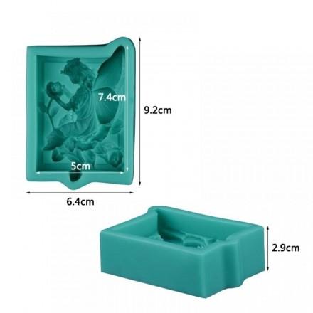 Καλούπι Σιλικόνης 9,2x6,4x2,9cm, Νεράιδα