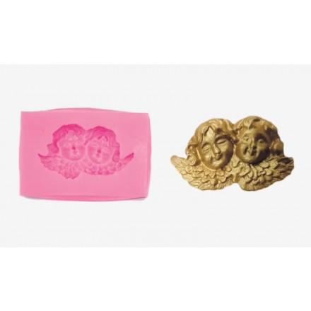 Καλούπι Σιλικόνης 7.5cm x 5.3cm x 1.5cm, Αγγελάκια / 0515131