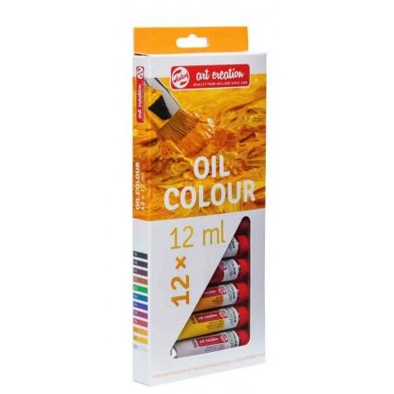 Σετ Χρώματα Λαδιού Art Creation 12ml Talens, 12 χρωμάτων