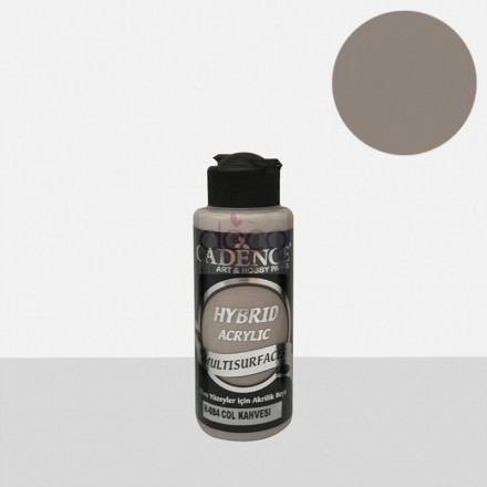 Υβριδικό ακρυλικό χρώμα Cadence ημιματ 120ml, Desert brown / H084
