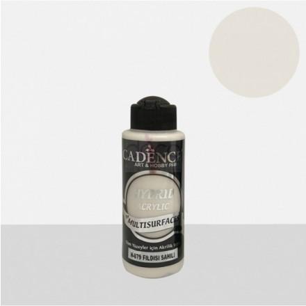 Υβριδικό ακρυλικό χρώμα Cadence ημιματ 120ml, Ivory coast / H079