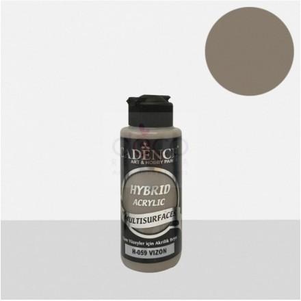 Υβριδικό ακρυλικό χρώμα Cadence ημιματ 120ml, Mink / H059