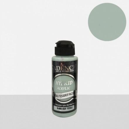 Υβριδικό ακρυλικό χρώμα Cadence ημιματ 120ml, Mould green / H089