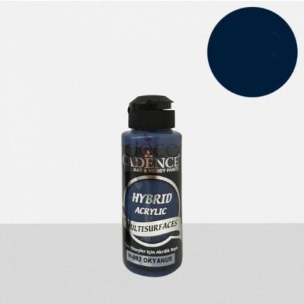 Υβριδικό ακρυλικό χρώμα Cadence ημιματ 120ml, Ocean / H092
