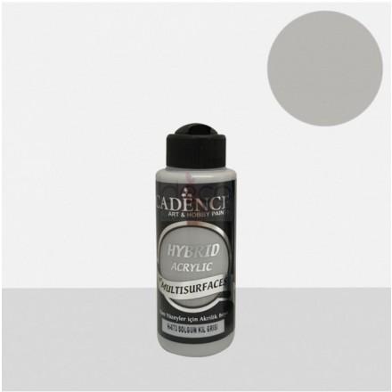 Υβριδικό ακρυλικό χρώμα Cadence ημιματ 120ml, Pale clay gray / H073