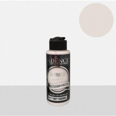 Υβριδικό ακρυλικό χρώμα Cadence ημιματ 120ml, Tibetan jasmine / H077