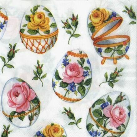 Χαρτοπετσέτα για Decoupage, Small Roses / 13306800