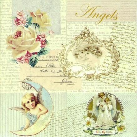 Χαρτοπετσέτα για Decoupage, Romantic Angels / 13308405