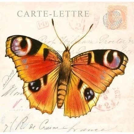 Χαρτοπετσέτα για Decoupage, Butterfly Cards / 13308580