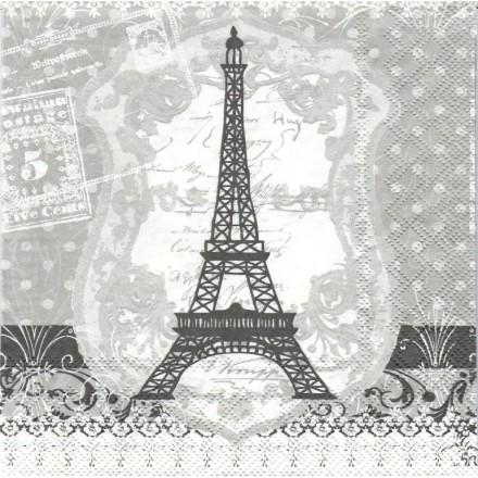 Χαρτοπετσέτα για Decoupage, Paris Eiffel Tower / 13309210