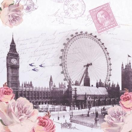 Χαρτοπετσέτα για Decoupage, London View / 13309240