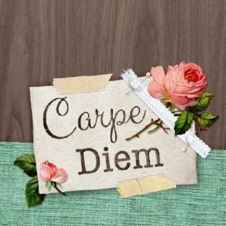 Χαρτοπετσέτα για Decoupage, Carpe Diem / 13309470