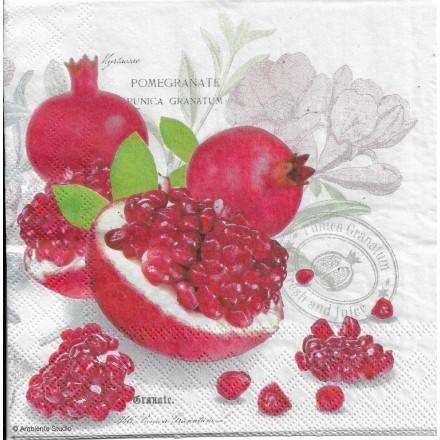 Χαρτοπετσέτα για Decoupage, Pomegranate / 13309710
