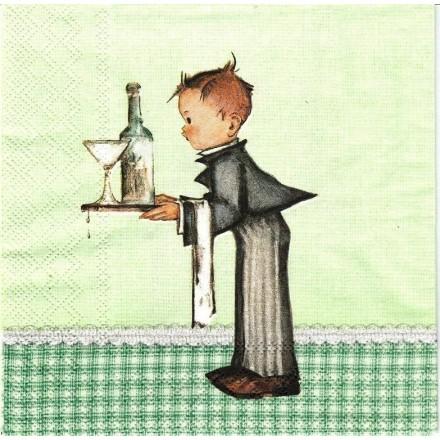 Χαρτοπετσέτα για Decoupage, Waiter / 13310270