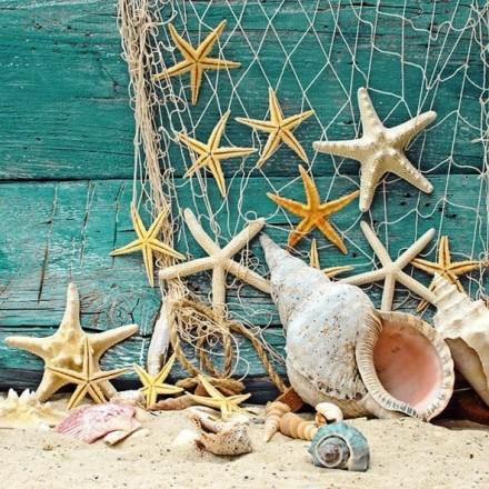 Χαρτοπετσέτα για Decoupage, Starfish / 13310365