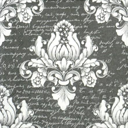 Χαρτοπετσέτα για Decoupage, Barok Grey / 13311875