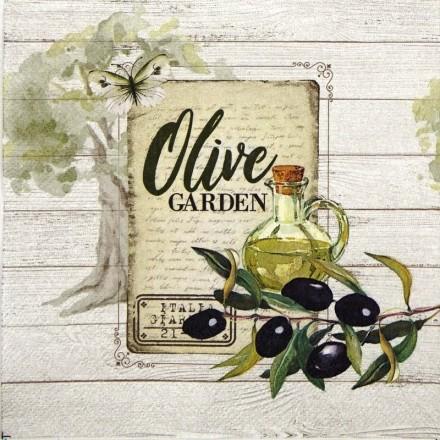 Χαρτοπετσέτα για Decoupage, Olive Garden / 13312950