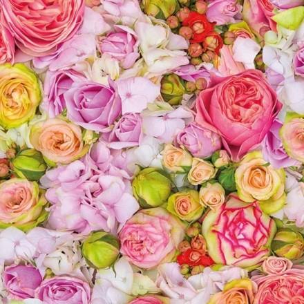 Χαρτοπετσέτα για Decoupage, Bed of Roses / 13313005