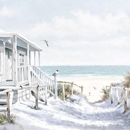 Χαρτοπετσέτα για Decoupage, Beach Cabin / 13313915