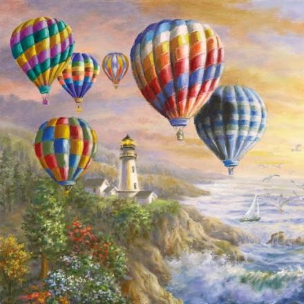 Χαρτοπετσέτα για Decoupage, Hot Air Balloons / 13314205
