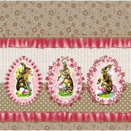 Πασχαλινή Χαρτοπετσέτα για Decoupage, Nostalgic Easter Rose / 23301621