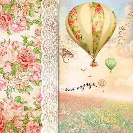 Χαρτοπετσέτα για Decoupage, Balloon Flight / 13309185