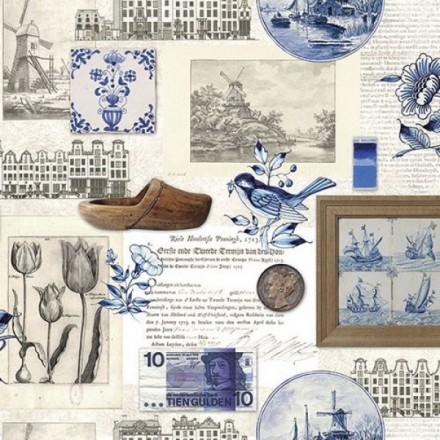 Χαρτοπετσέτα για Decoupage, Authentic Holland / 13310065