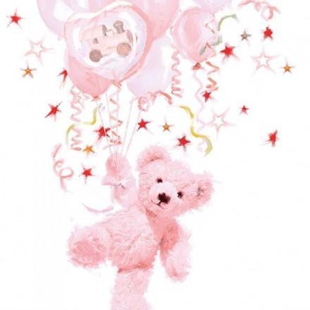 Χαρτοπετσέτα για Decoupage, Teddy (rose) / 13310095