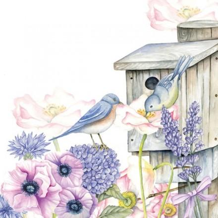 Χαρτοπετσέτα για Decoupage, Birdhouse Backyard / 13311220