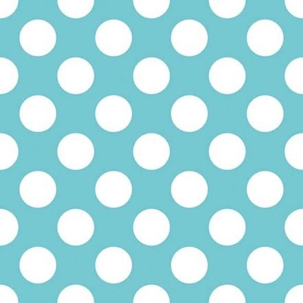 Χαρτοπετσέτα για Decoupage, Big Dots Blue
