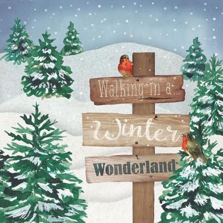 Χριστουγιεννιάτικη Χαρτοπετσέτα για Decoupage, Winter Wonderland / 33312110