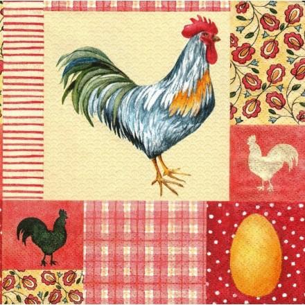 Χαρτοπετσέτα για Decoupage, Le Coq / 1210-10315