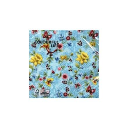Χαρτοπετσέτα για Decoupage, World of Spring 25 x 25cm / CN07325 x 25cm - World of Spring