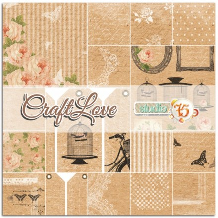 Χαρτιά Scrapbooking Collection Set (Craftlove, 6τεμ)
